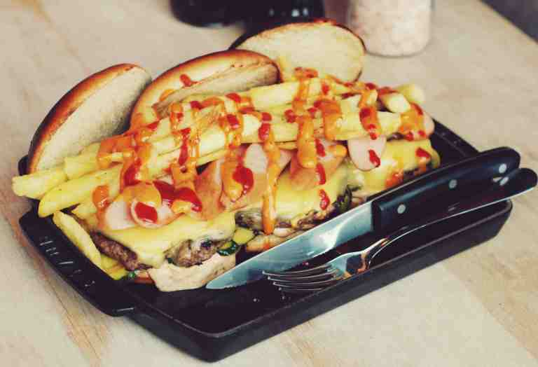 Cut and Grind Vice Burger