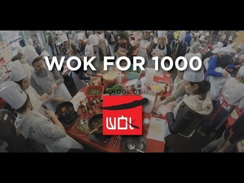 #Wokfor1000 will attempt to cook 1000+ meals in one day in Borough Market 17