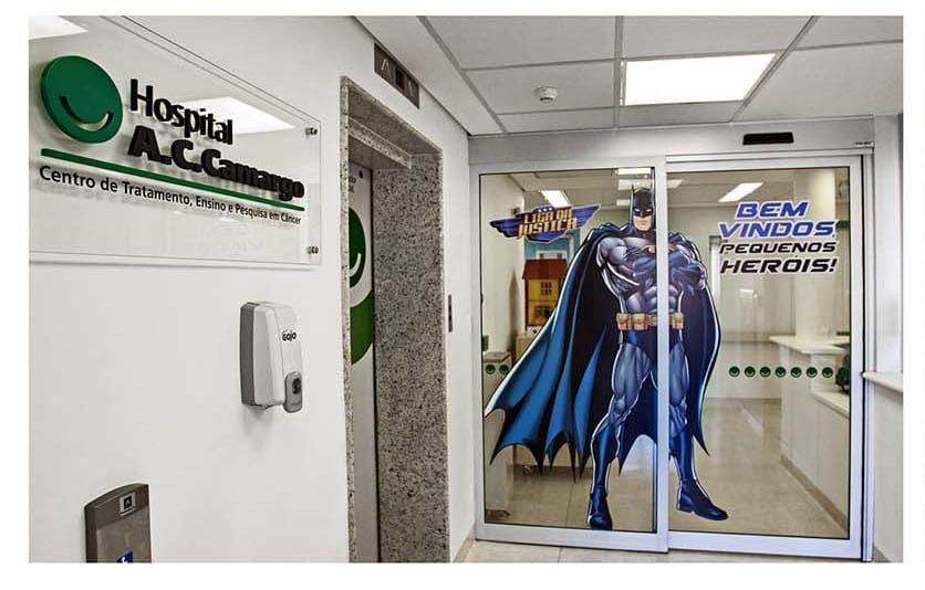 #正義聯盟 X 巴西癌症治療中心超感人企劃: Superformula 為癌症兒童注入超級英雄藥劑 7
