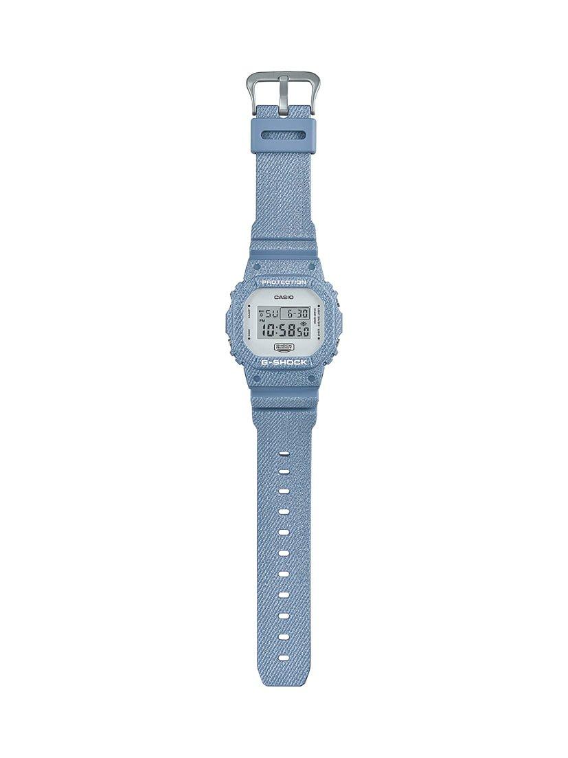# G-SHOCK & BABY-G 錶款也吹起Denim混搭:春季就用丹寧系藍調襯出品味! 9