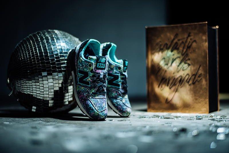 # P.V.S X New Balance MRL996PV 聯乘之作:粉嫩充滿光影與柔美畫風與鞋款精彩融合 2