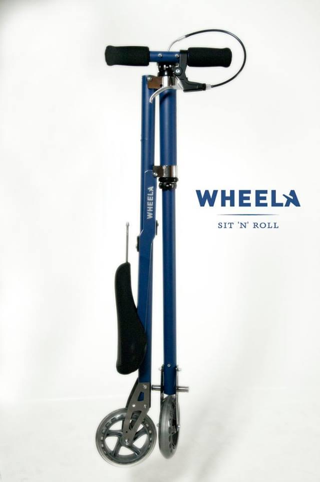 # Wheela the Scootbike 終極迷你單車:讓你把單車輕鬆背著走 16
