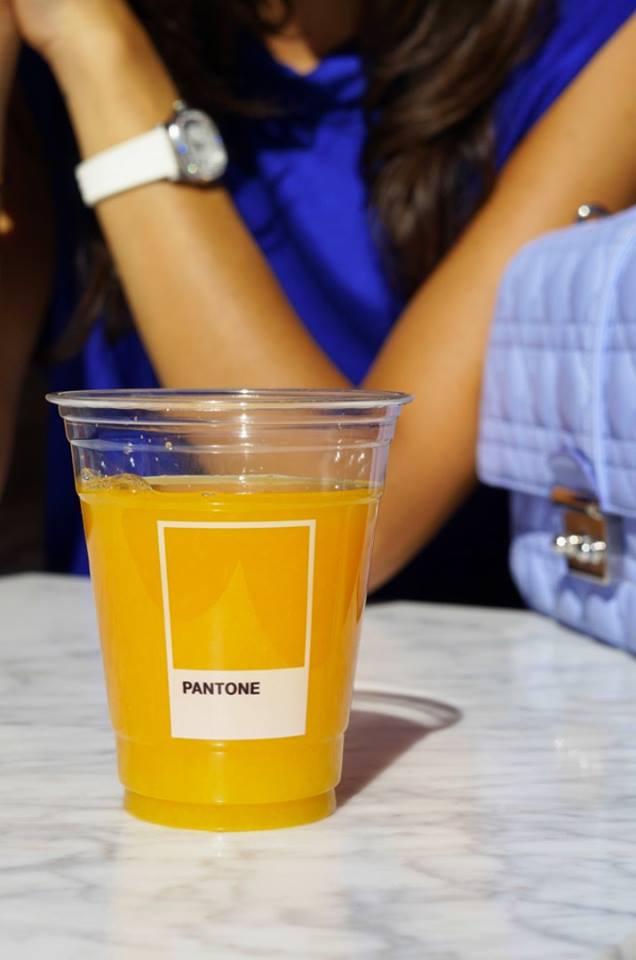 # Pantone Cafe 新開張:讓眼睛跟肚子享受一場顏色的饗宴 12