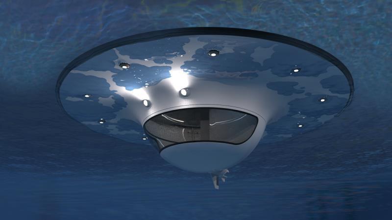 # 幽浮海上漂!:Jet Capsule的浮動海上空間 8