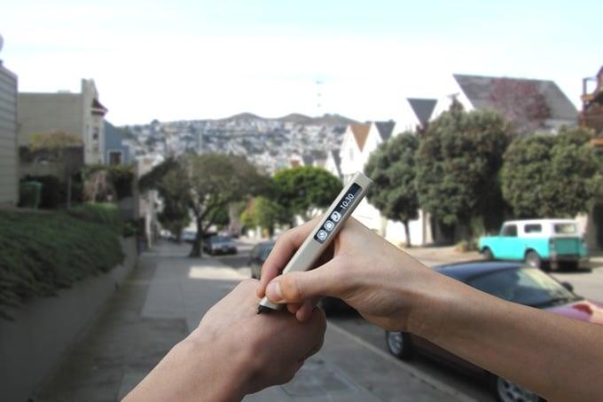 # 隨時隨地都可以寫字:不用墨水的電子筆 Phree 2