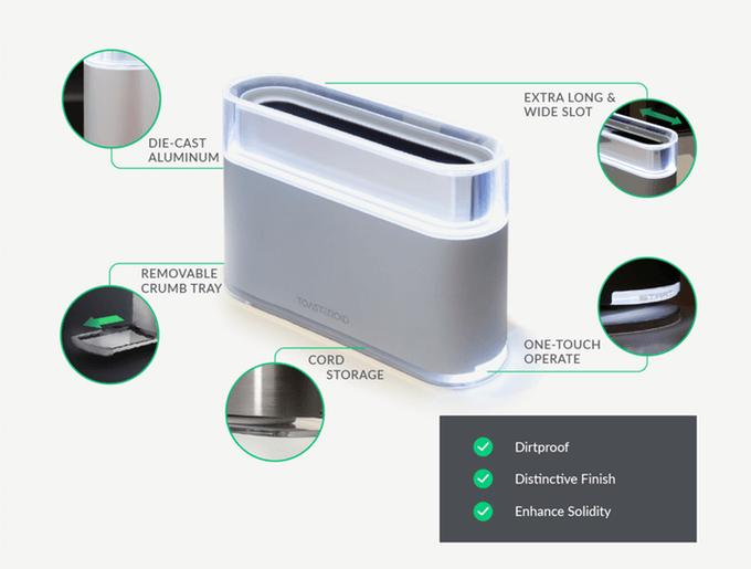 #創意吐司自己做!:第一個用APP操控的智慧型烤吐司機Toasteroid 5