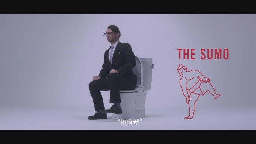 # 上廁所竟也分流派:docomo 教你如何正確使用日本廁所 10