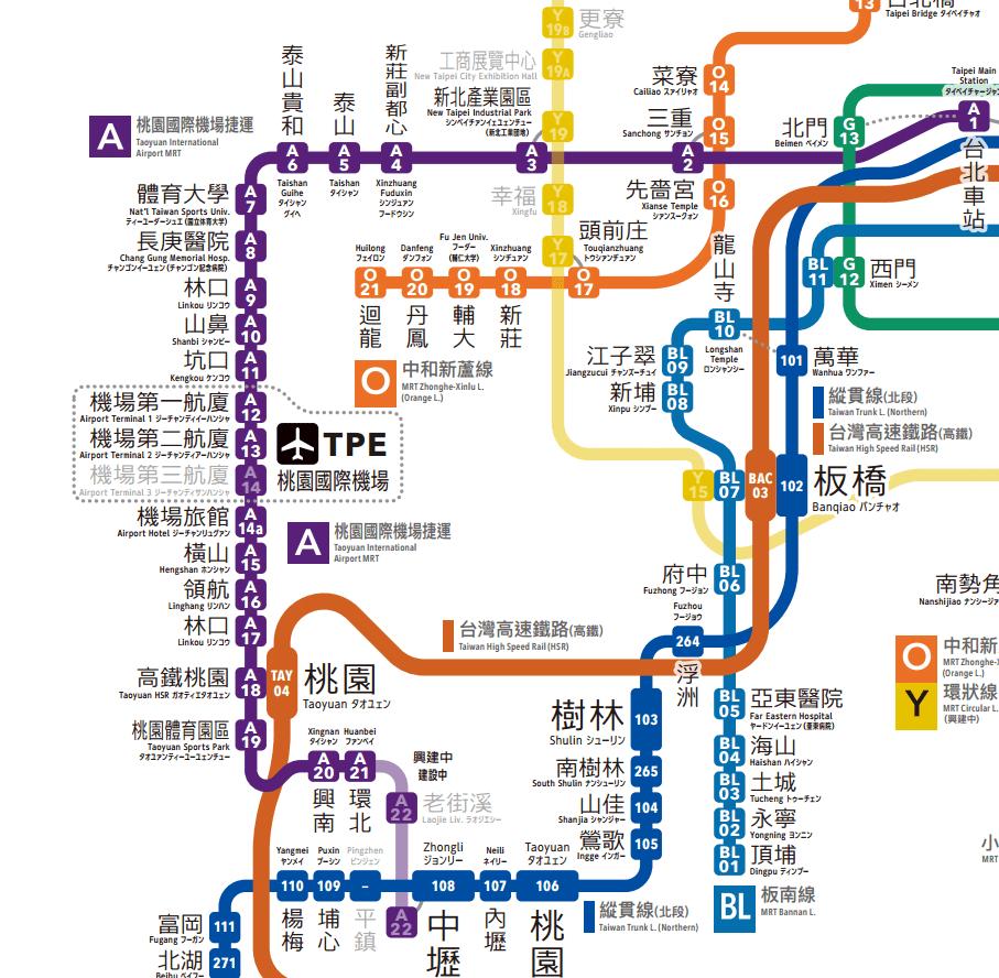 #日製「臺灣鐵路路線圖」:將臺灣所有鐵路一氣呵成串接集結! « L.DOPE