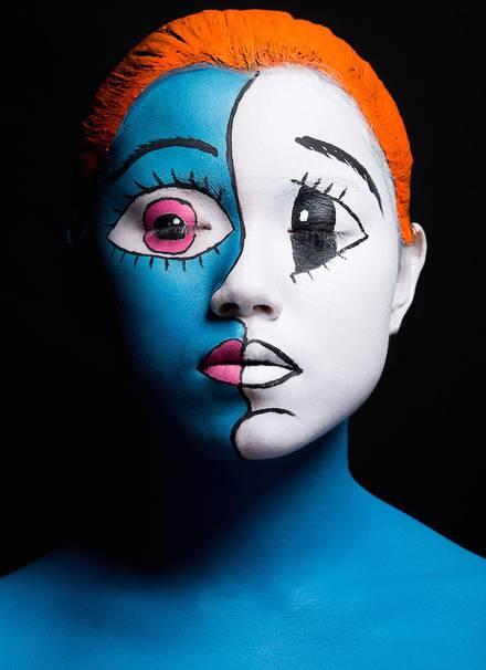 #Face Painting:驚人的日本波普藝術 8