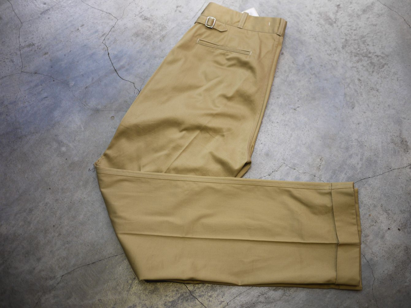 Classic Works:【我的探索之路-Old Joe Hard Westpoint Gurkha Trouser 】 6