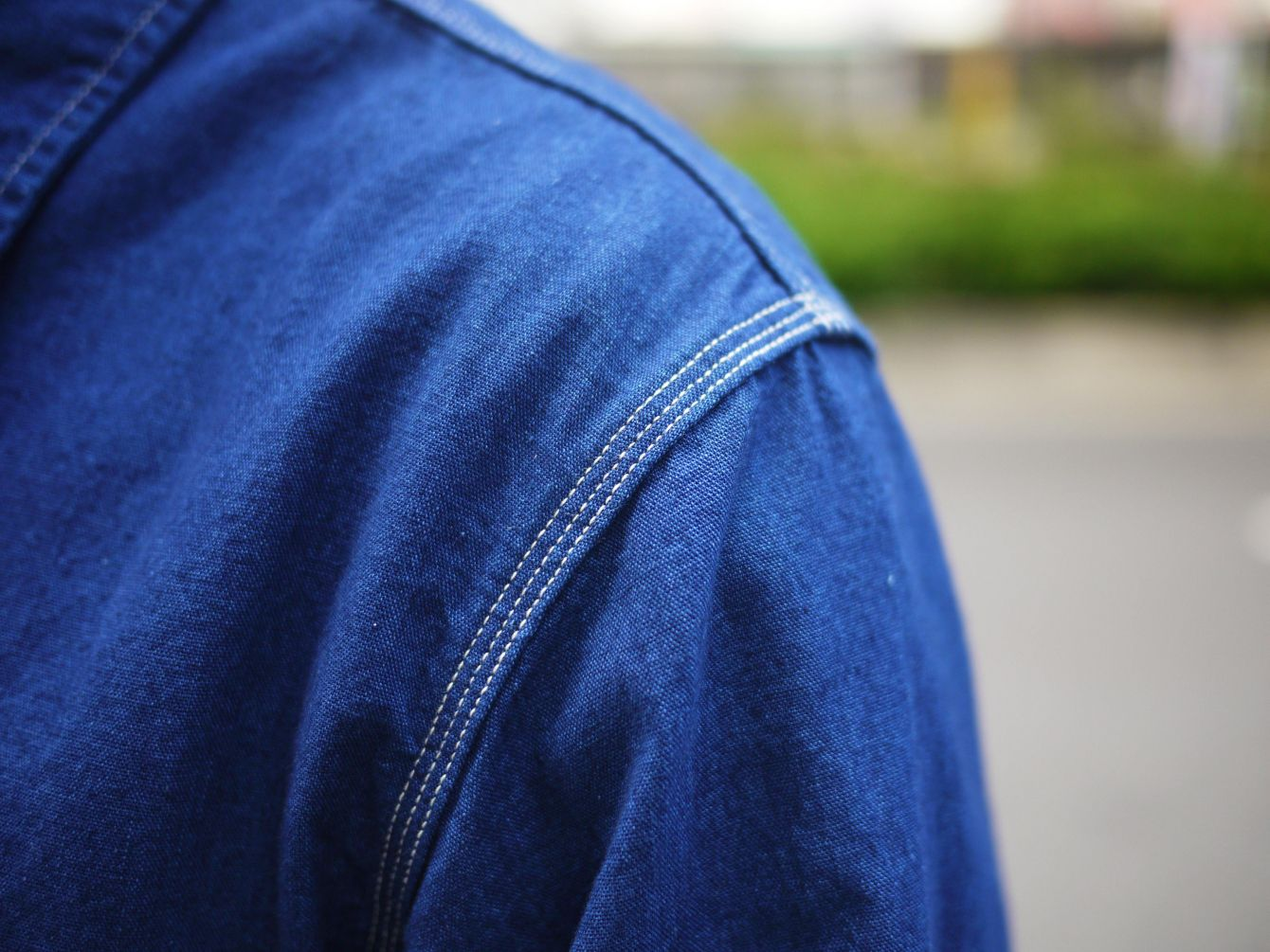Classic Works:【我的探索之路-Burgus Plus Lot.300 Beta Chambray Work Shirt 】 5