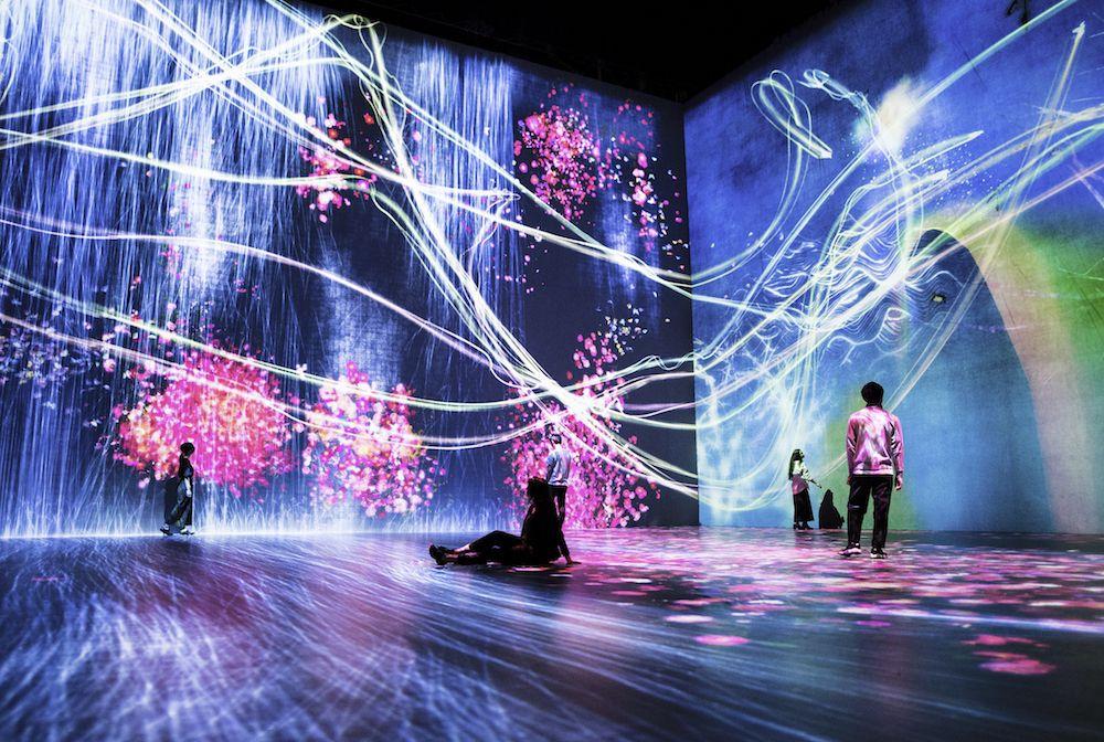 # 如夢似幻般的互動數位藝術展「Beyond the limits」:於巴黎 La Villette 公園展出 6