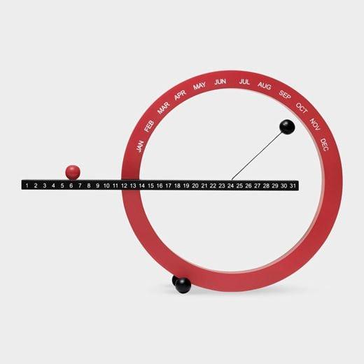 # 這圓圈物體竟然是萬年曆:Moma Magnetic Perpetual Calendar 4