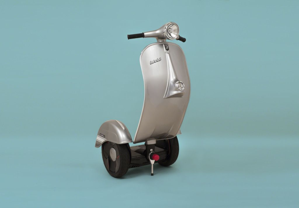 # Z-Scooter:酷似偉士牌的電動車?科技與復古碰撞之火花! 2