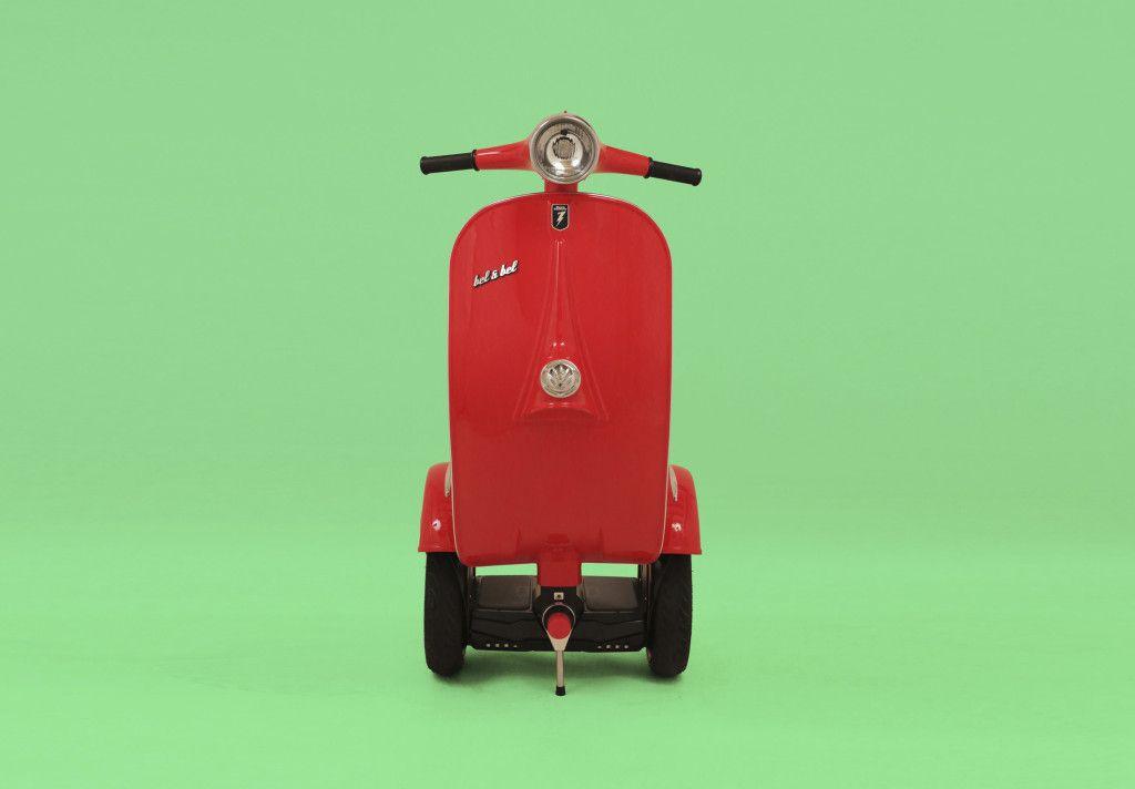 # Z-Scooter:酷似偉士牌的電動車?科技與復古碰撞之火花! 3