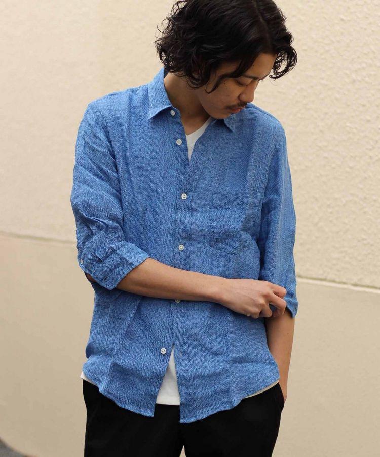 # JOURNAL STANDARD 抗暑對策:來自法國亞麻製的七分袖襯衫 5