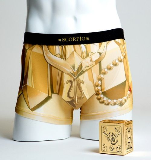 # 聖鬥士星矢推出聖衣內褲:以黃道十二宮黃金聖衣為概念 10