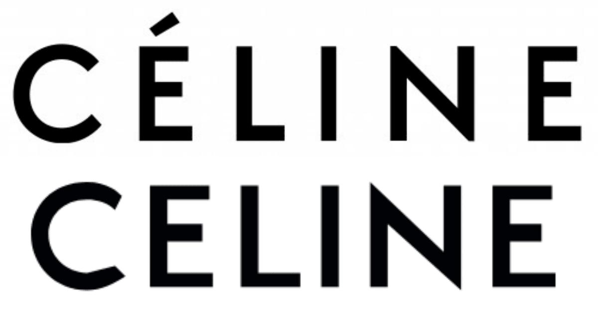 # 法國精品品牌 CELINE 發布震撼彈:更換新 LOGO! 1