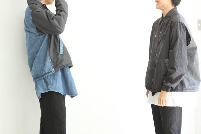 # FACETASM 設計師落合宏理主導之個人品牌「F」:新作拼接教練外套釋出 7