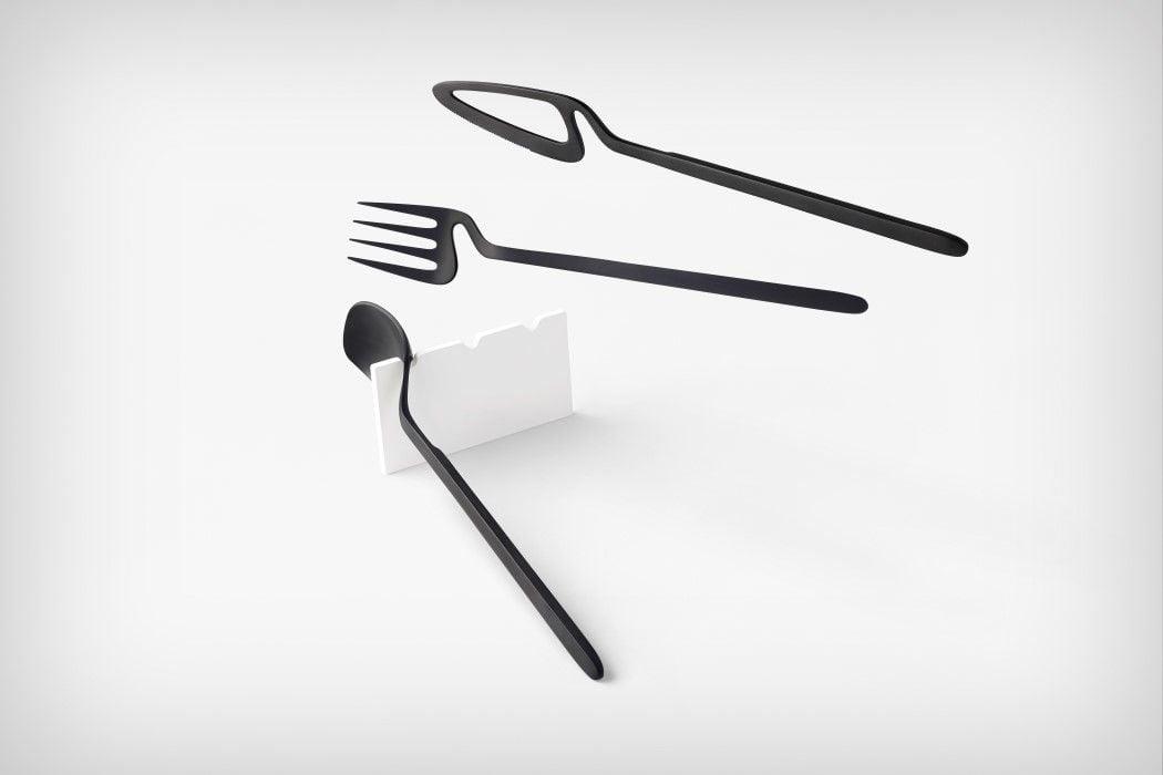# 極簡骨骼風餐具:「skelton」Nendo for Valerie Objects 9