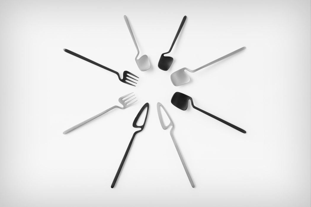 # 極簡骨骼風餐具:「skelton」Nendo for Valerie Objects 7