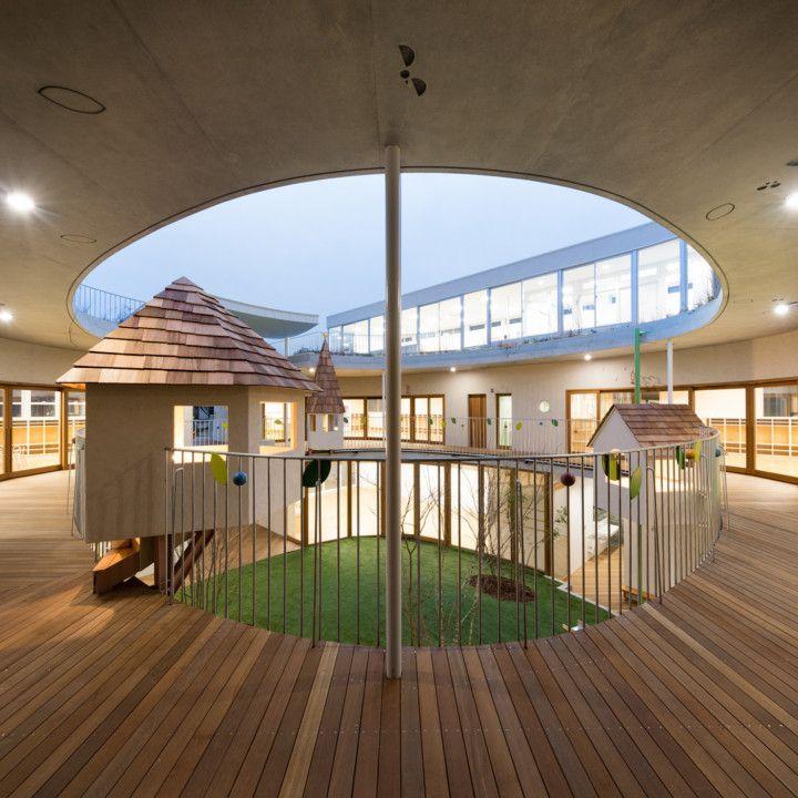 # 宛如童話風格的迷你運動場:日本東京的友の季ひまわり幼稚園 5
