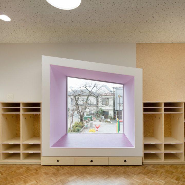 # 宛如童話風格的迷你運動場:日本東京的友の季ひまわり幼稚園 12