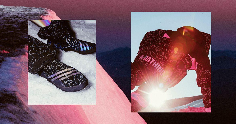 # BAPE × adidas Originals 最新聯名:以滑雪運動為主軸之合作系列 13
