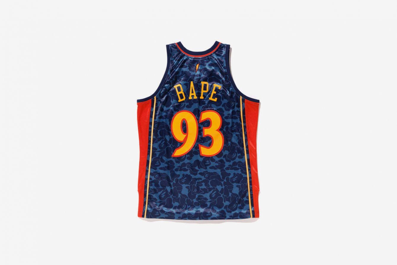 # BAPE × Mitchell&Ness:猿人頭迷彩 NBA 球衣登場,Snoop Dogg 親身演繹 9