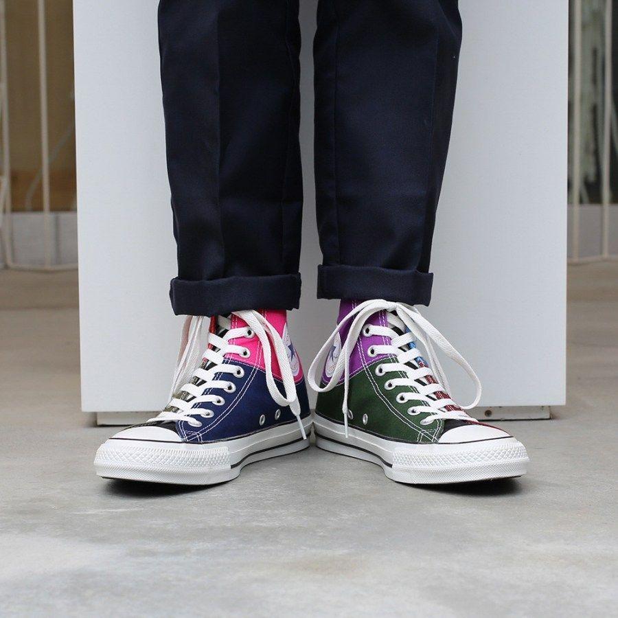 # In Your Shoes 017:單一太無聊,異樣才夠看!盤點近期火紅的「拼接」鞋款 8