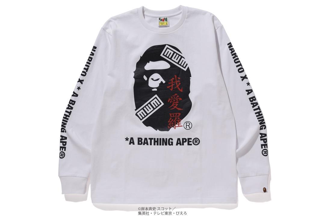 # 火影猿人登場:BAPE ×《 NARUTO 火影忍者》聯名系列即將上架 10