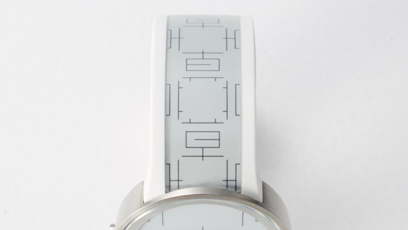 # SONY FES Watch U × 真四角:運用漢字的美向你報時! 4