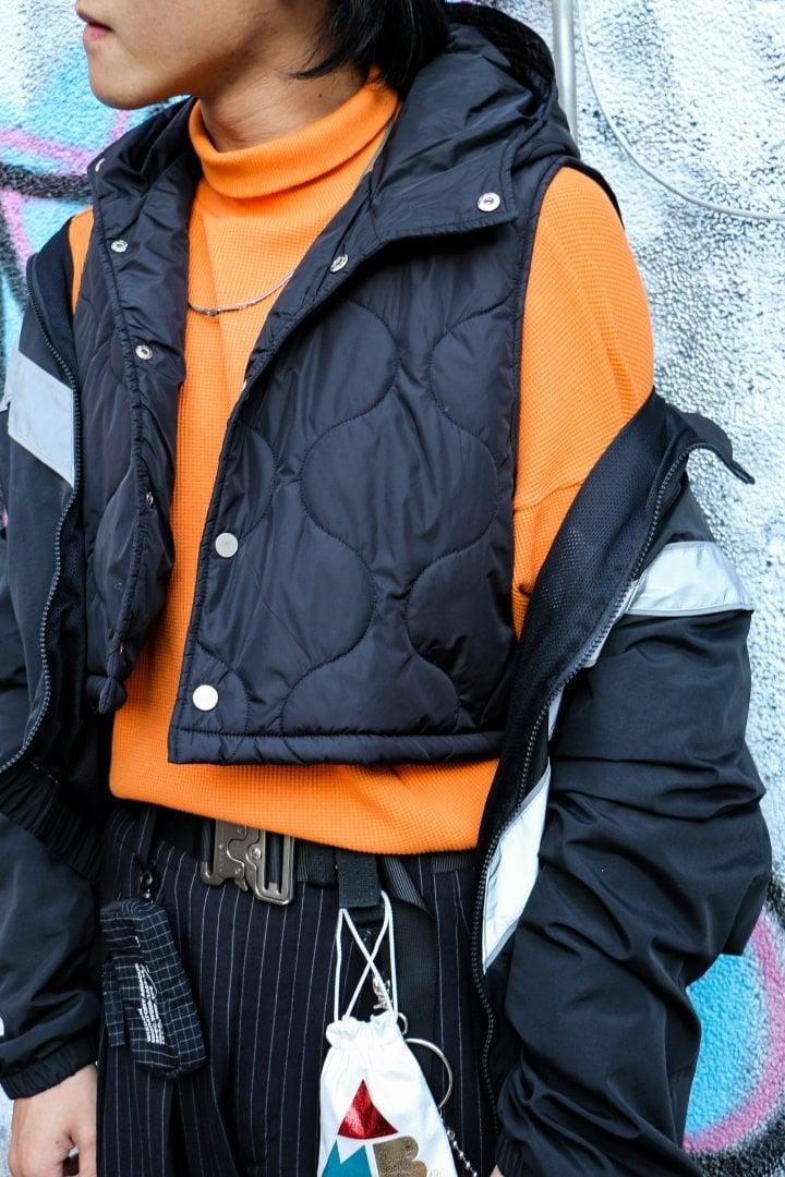 # Shop Staff Snap:經典不敗黑 x 熒光橙色塊強烈撞擊視覺 6