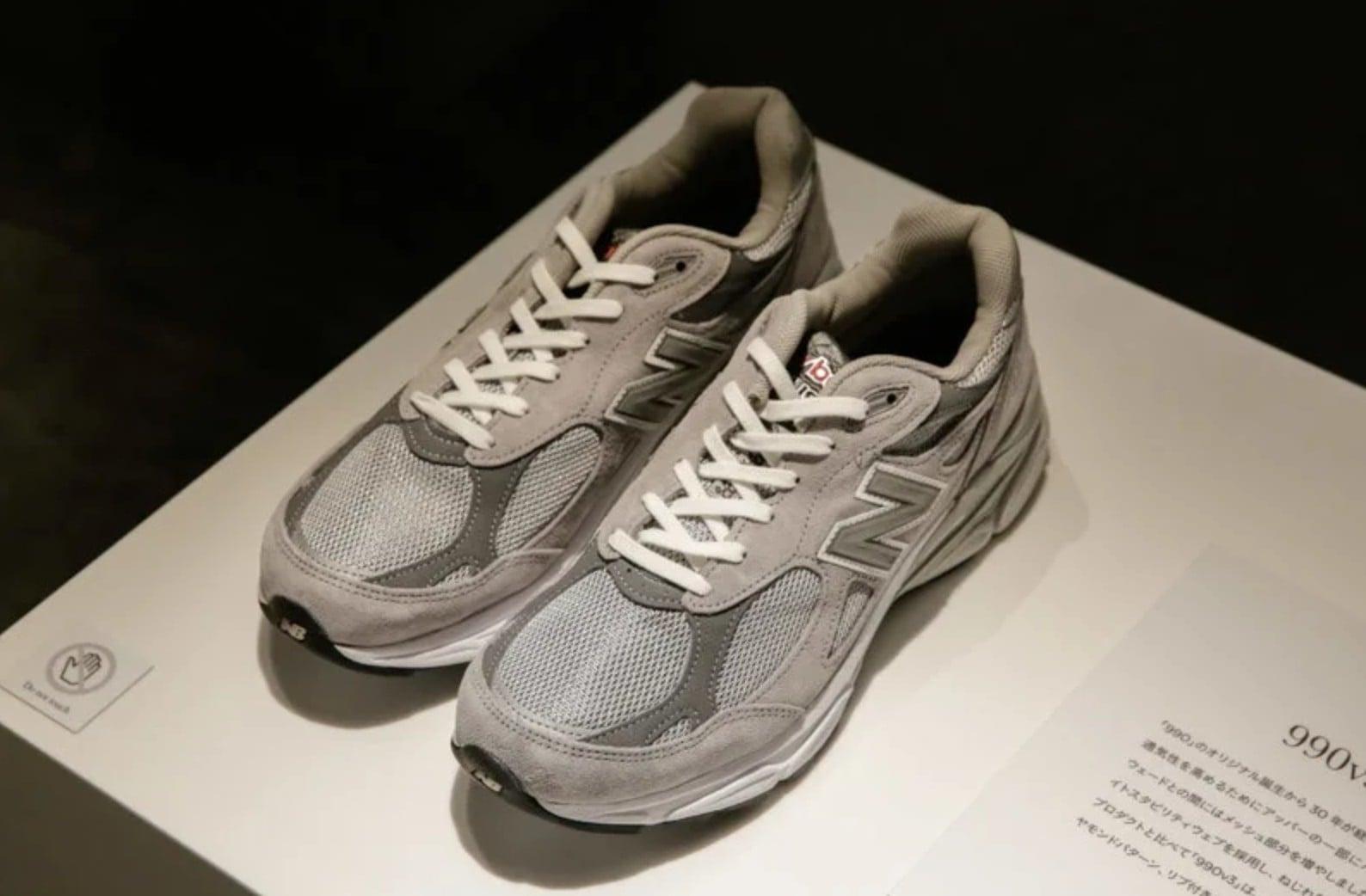 # 一日限定 New Balance 990 博物館:珍稀原作展出。新系列990v5一併發表 » L.DOPE
