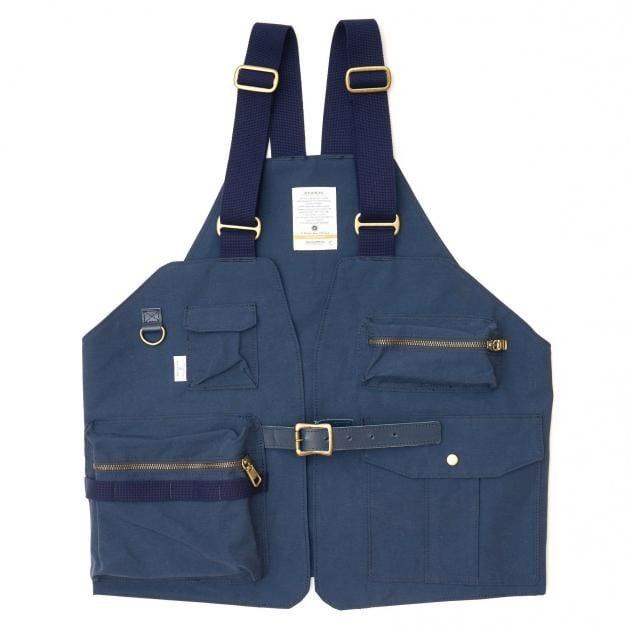 # 是背心也是包袋:日本品牌 AS2OV 推出 CAMP VEST 打造機能質感背心 11
