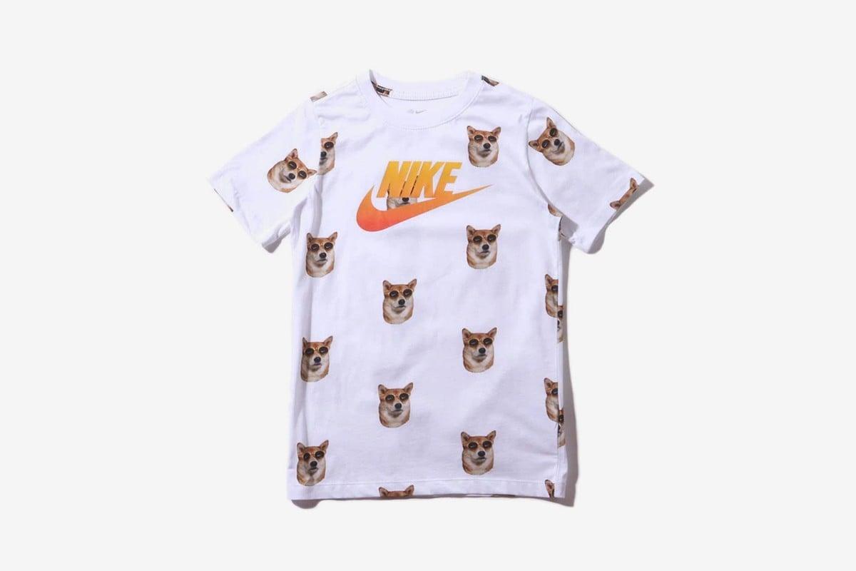 # 以世界上最會穿的狗為靈感:NIKE 發表柴犬系列 T-Shirt 4