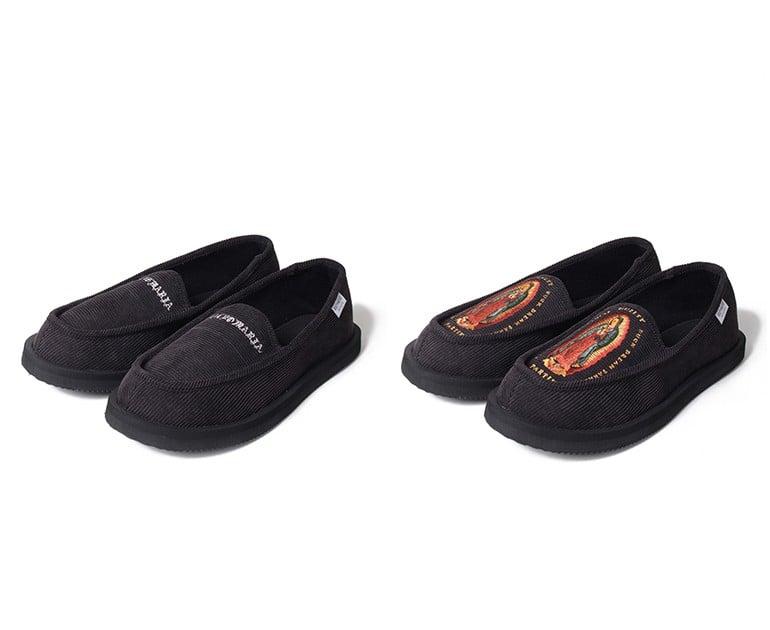 # 當室內鞋也可外穿:WACKO MARIA × SUICOKE 聯名樂福鞋款登場 1