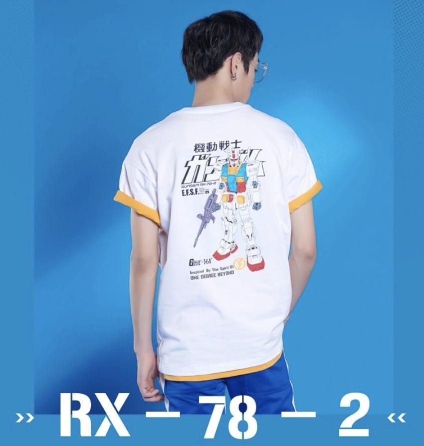 # 鋼彈找來361°聯名:RX-78-2變身成為你的日常穿搭夥伴 4