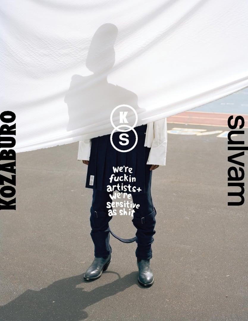 #KOZABURO x sulvam:來自LVMH日本設計師的聯名褲款 21