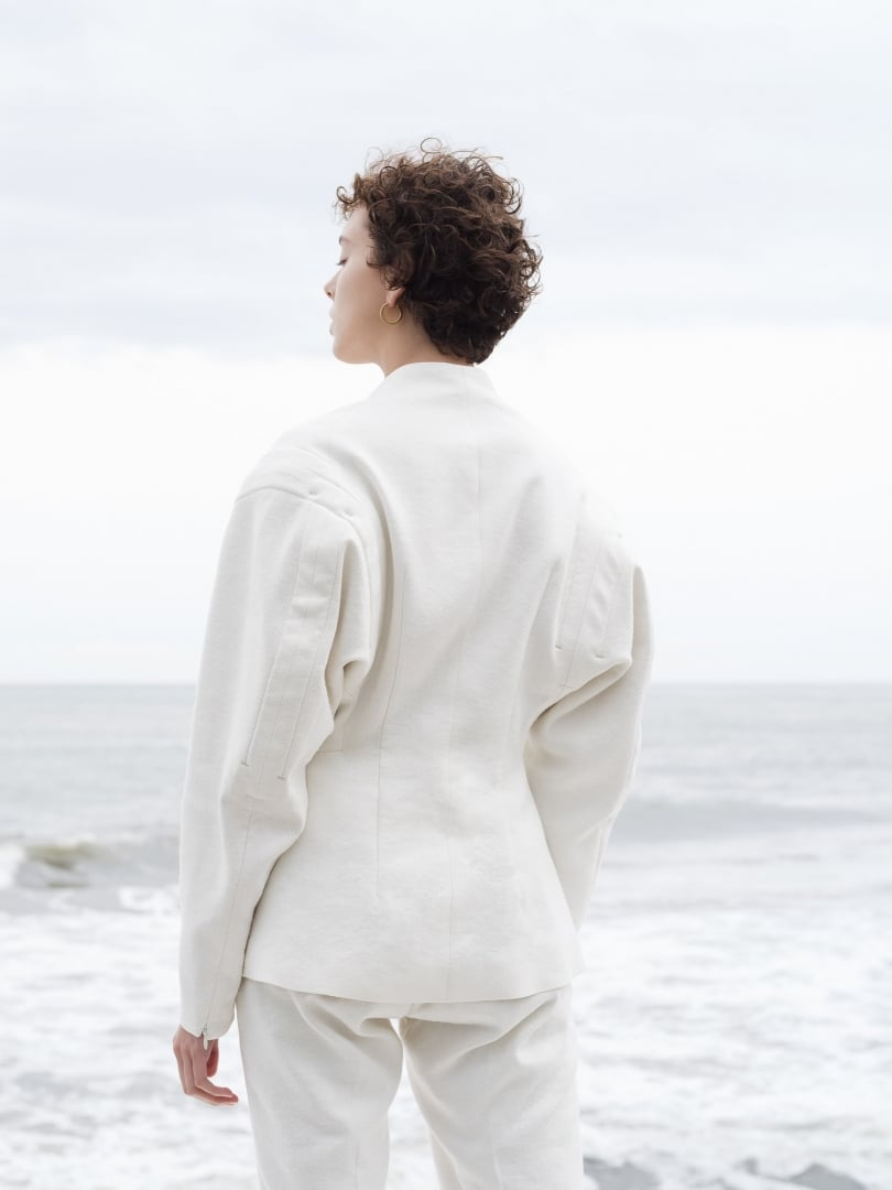 # YOHEI OHNO 2020ss:袖口開衩將會是明年服裝設計的趨勢嗎? 5