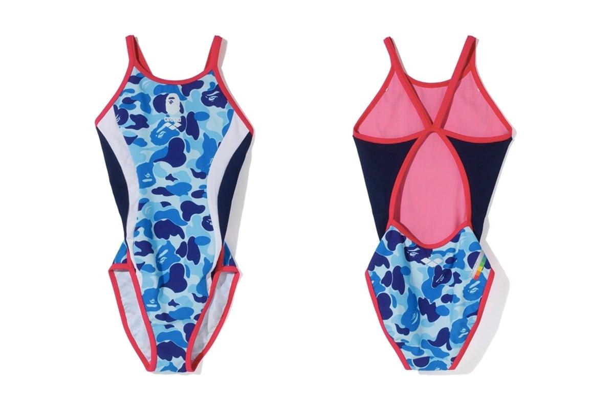 # A BATHING APE x arena:「猿游會」專業競技泳衣聯名系列 17