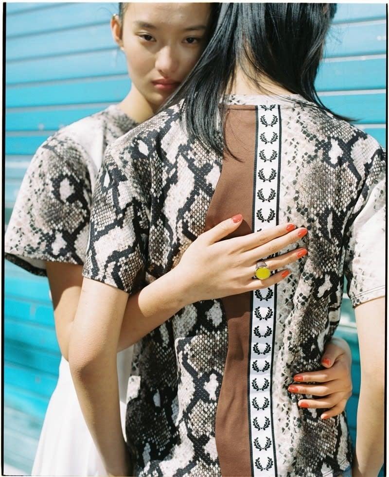 # FRED PERRY x AKANE UTSUNOMIYA:豹紋之外的時尚趨勢? 12