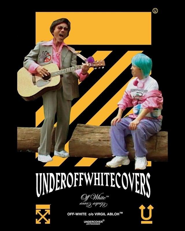 # UNDERCOVER x Off-White™ :復古綜藝穿出「UNDEROFFWHITECOVERS」時尚惡趣味 1