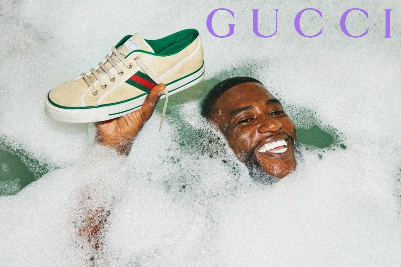# 同名同姓撞一起:饒舌歌手 Gucci Mane 正式與精品 Gucci 聯名合作 3