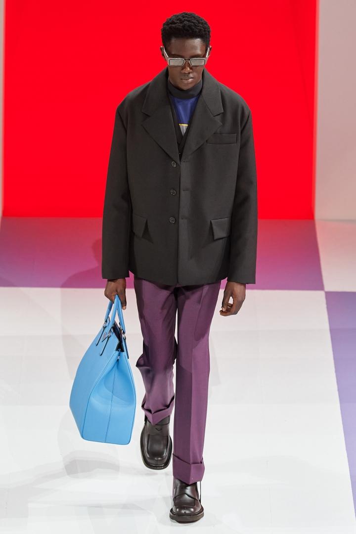 # FW 2020 Prada Menswear:用經典時裝與街頭潮流抗衡 28