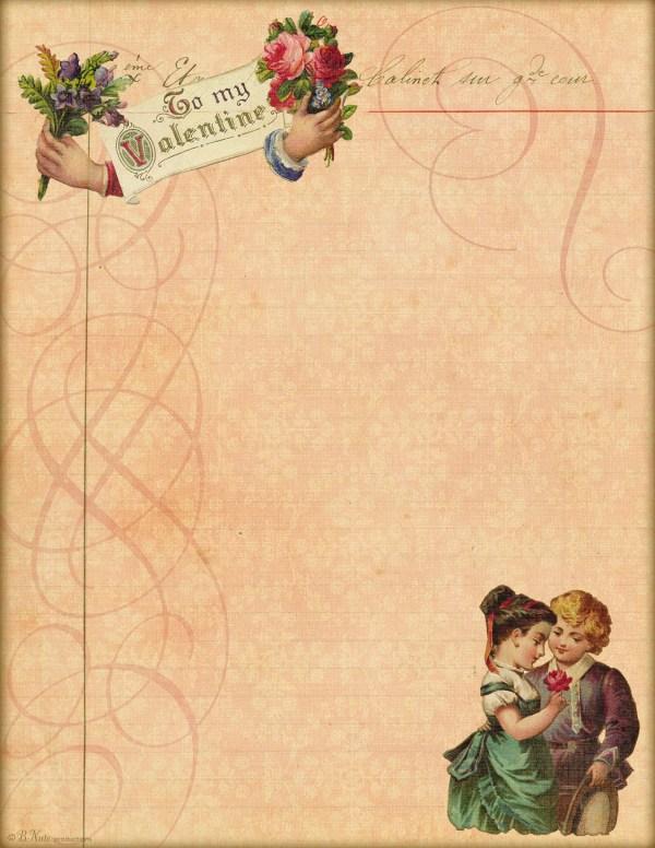 Love Letter Paper Ldr13