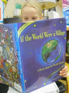 There are SO many incredible books out there to help you learn ABOUT the world ... learning WITH the world DEEPENS that learning. Photo by Global Grade 3s