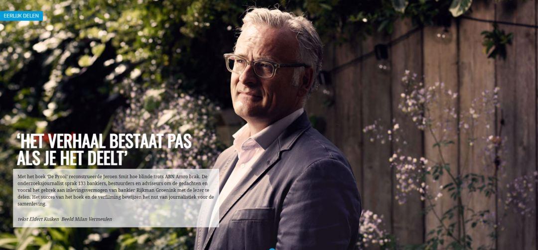 FNV, Eerlijk Delen, Interview, Journalistiek, content, Jeroen Smit, LDRT, Magazine
