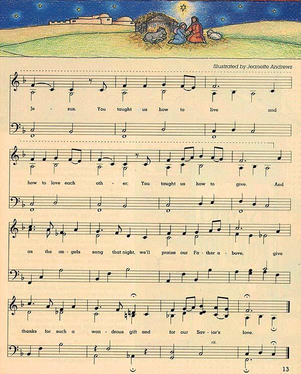 Baby Jesus Baby Jesus I Love You Lyrics : jesus, lyrics, Jesus