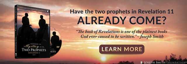 "Have the Two Prophets in Revelation 11 already come? Find out now by ordering the DVD, ""Unlocking the Mystery of the Two Prophets: Revelation 11."""